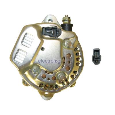 ALT6550, Alternator, Nippon Denso Type, 12V, 45A, IR/IF, 1 Groove Pulley
