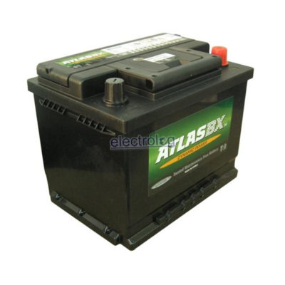 BAT0646AR, Battery, Atlas, 12V, 55A, 480CCA, Recessed