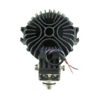 LSP303, Light, Round, Spot, 9-32V, 51W, 17 LED, Black