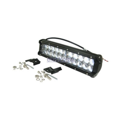 LSP304, Light, Bar, Spot, 10-30V, 72W, 24 LED, Bubble Lens