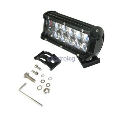 LSP305, Light, Bar, Spot, 10-30V, 36W, 12 LED, Bubble Lens