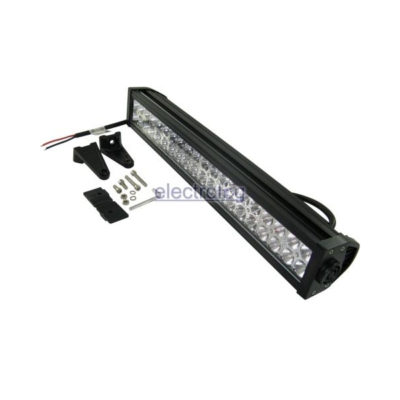 LSP306, Light, Bar, Spot, 10-30V, 120W, 40 LED, 24 Clear, 16 Frosted