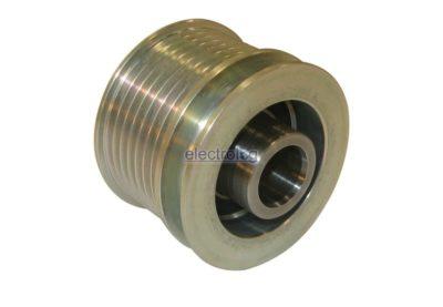 PUL1122i, Alternator Pulley, Pulley, Bosch TYPE, Mercedes, C-Class, E-Class, S-Class, 7 Groove, Clutch/Free Wheel