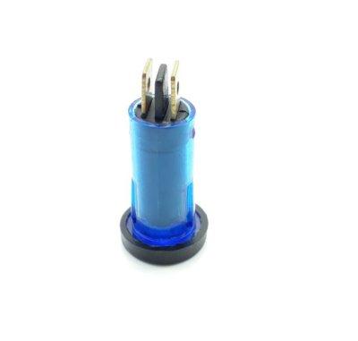 LPW011, Panel Light , Warning, Lamp, Blue, 2-Pin