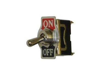SWT025, Switches, Toggle Switch, On, Off, With Plate, IAC137