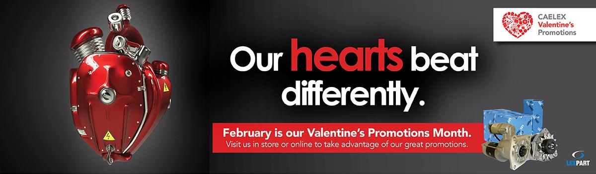 Caelex Valentines Promotion